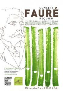 Concert Fauré